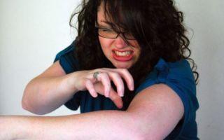 Лечение зуда кожи головы и тела