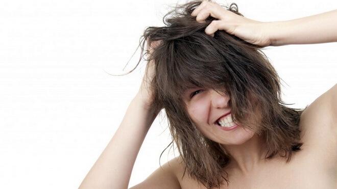 чешется голова после мытья